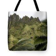 Rock Formations Seen Through Coconut Tote Bag