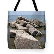 Rock Fortress Tote Bag