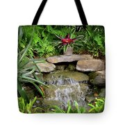 Rock Fountain IIi Tote Bag