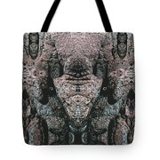 Rock Gods Elephant Stonemen Of Ogunquit Tote Bag