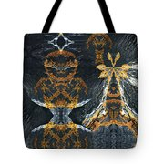 Rock Gods Lichen Lady And Lords Tote Bag