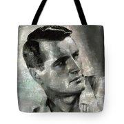 Rock Hudson Hollywood Actor Tote Bag