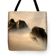 Rock In The Ocean Tote Bag