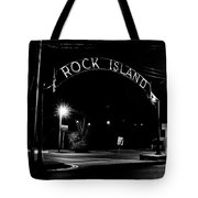 Rock Island Entrance Tote Bag