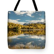 Rock Lake Tote Bag