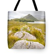 Rock Landscape Off Lake Plimsoll Near Queenstown Tote Bag