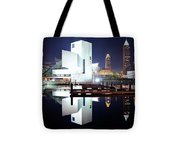 Rock N Roll Hall Of Fame Tote Bag