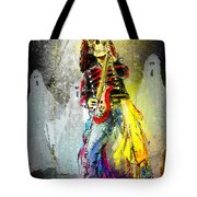 Rock N Roll The Bones Tote Bag