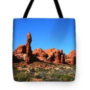 Rock Pillar Sandstone Hoodoos Arces National Park Tote Bag