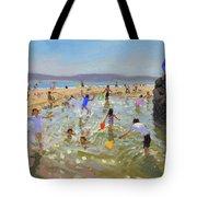 Rock Pool, Tenby Tote Bag
