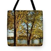 Rock River In October Tote Bag