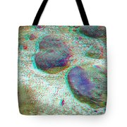 Rock Shapes 3 -use Red And Cyan 3d Glasses Tote Bag