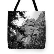 Rock Spirits At Yosemite B And W Tote Bag