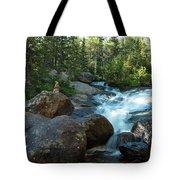 Rock Stack Falls Tote Bag