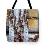 Rock Study 18 Square Tote Bag