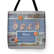 Rock That Is Higher Spanish Tote Bag
