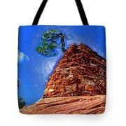 Rock Tree Tote Bag