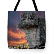 Rock Wallpaper Tote Bag