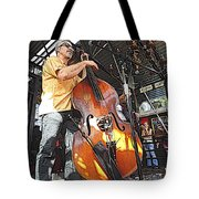 Rockabilly Bass Tote Bag