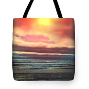 Rockaway Beach Colors Tote Bag