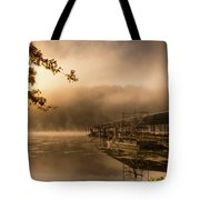 Rockaway Beach Dock 2 Tote Bag