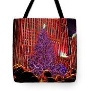 Rockefeller Center Christmas Tree Tote Bag
