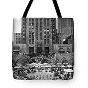 Rockefeller Center Plaza Tote Bag