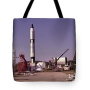Rocket Garden Tote Bag