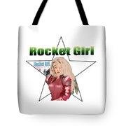 Rocket Girl Tote Bag