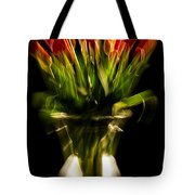 Rocket Propelled Tulips Tote Bag