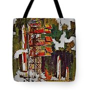 Rockets To Mars Tote Bag