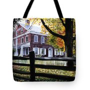Rockford In Autumn Tote Bag