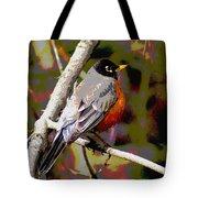 Rockin' Robin Tote Bag