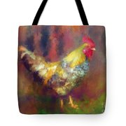 Rockin' Rooster Tote Bag