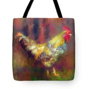 Rockin' Rooster Tote Bag