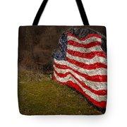Rockin' The Flag Tote Bag