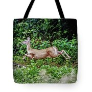 Rocking Deer Tote Bag