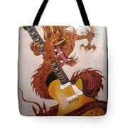 Rocking Dragon Tote Bag