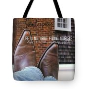Rocking Kicks Quote Tote Bag