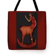 Rockinghorse Woman Tote Bag