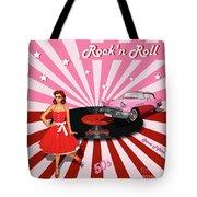 Rock'n Roll The Sweet Fifties Tote Bag