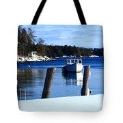 Rockport Blue Tote Bag
