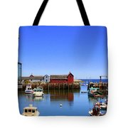 Rockport Harbor Tote Bag
