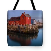 Rockport Ma Fishing Shack - #1 Tote Bag