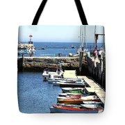 Rockport Ma Inner Harbor Tote Bag