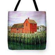 Rockport, Motif No. 1, Fishing Shack Tote Bag