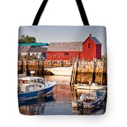 Rockport Motif Tote Bag