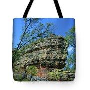 Rocks Along The Roadway Tote Bag