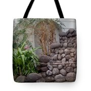 Rocks And Grass Tote Bag