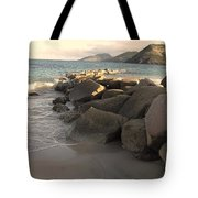 Rocks And Hills Tote Bag